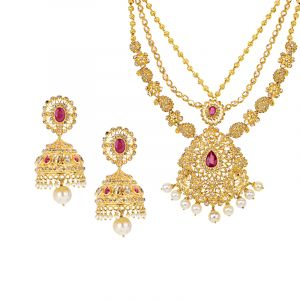 Anushvi Uncut Diamond Necklace