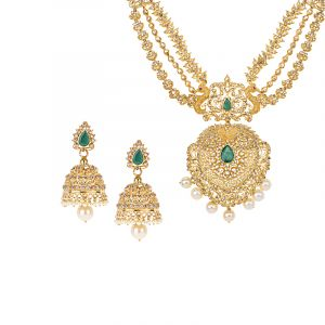 Asritha Uncut Diamond Necklace