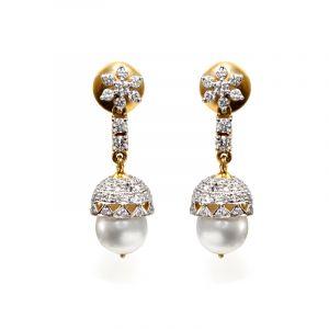Bluma Diamond Earrings