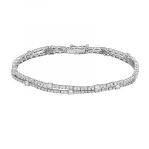 Duona Diamond Tennis Bracelet