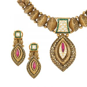 Ritupurna Antique Necklace