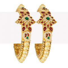 22k Gold Antique Pearl Gems Kadas