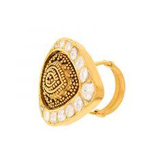 Aheli Antique Kundan Ring
