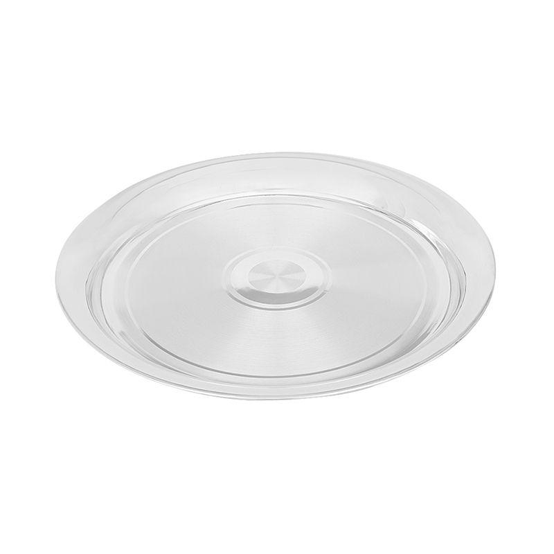 0.925 Silver Small Stripe Silver Plate