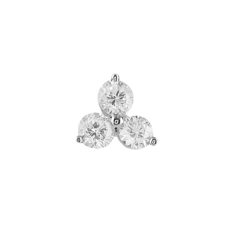 Trio Diamond Nose Pin Raj Jewels