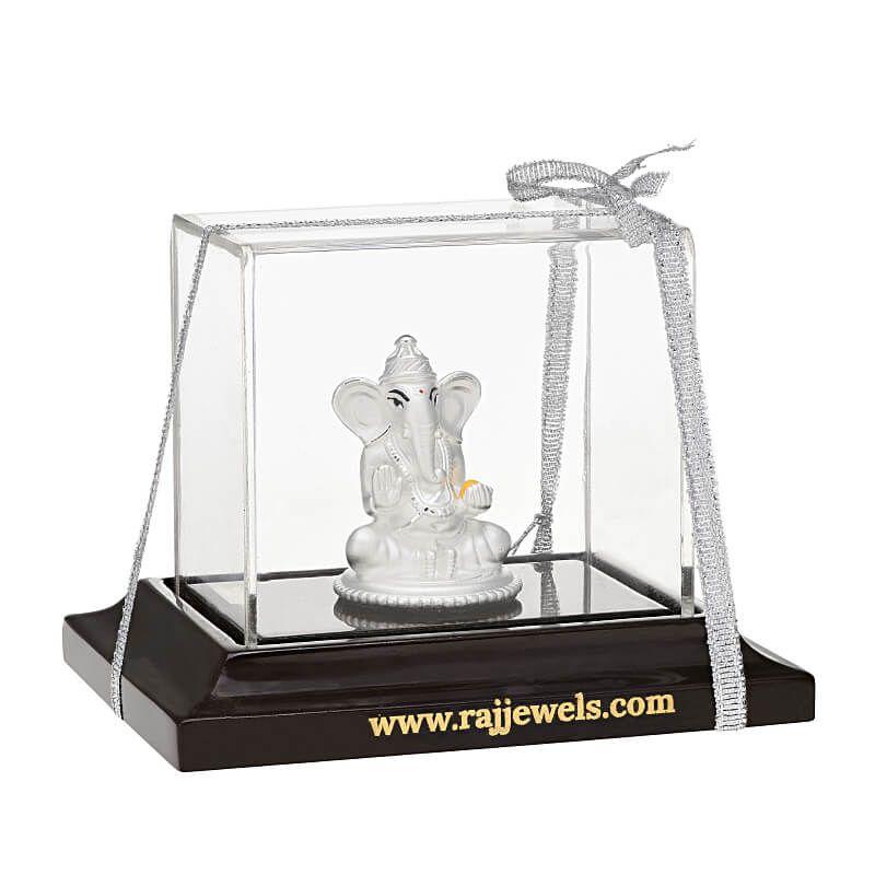 0.999 Silver Tiny Ganesh Silver Murti