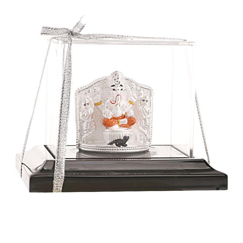 0.999 Silver Maha Ganpati Silver Statue