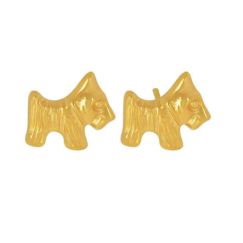 22k Gold Tiny Horse Gold Studs