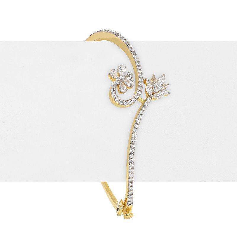 18k Diamond Abrielle Diamond Bangle Bracelet