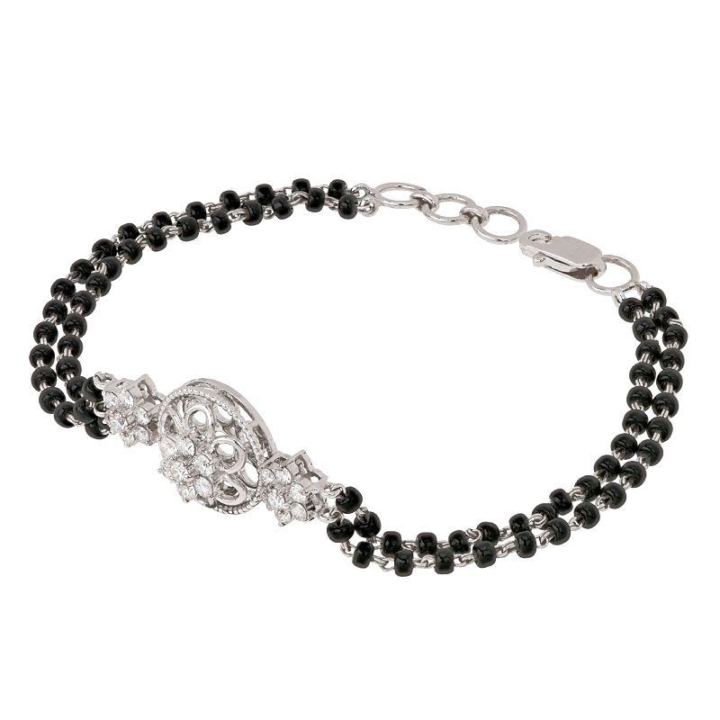 18k Diamond Divine Diamond Mangalsutra Bracelet