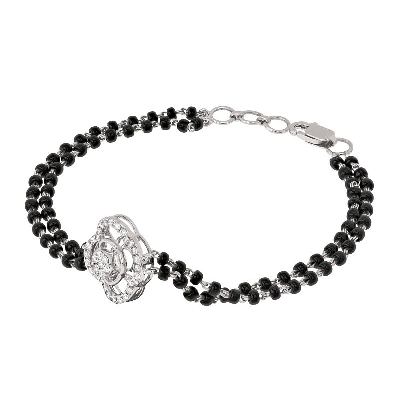 18k Diamond Floretti Diamond Mangalsutra Bracelet
