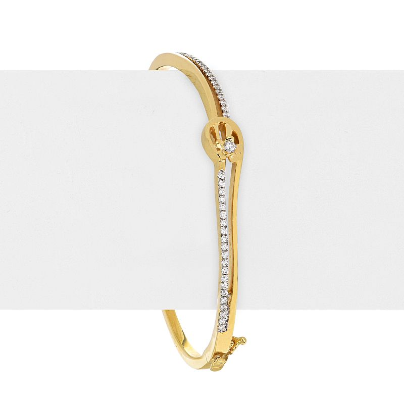 18k Diamond Alodie Diamond Bangle Bracelet