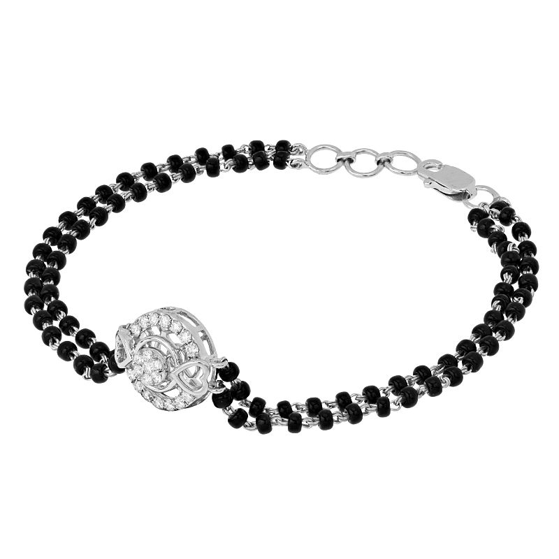18k Diamond Eros Diamond Mangalsutra Bracelet