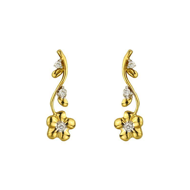 18k Diamond 18K Diamond Earrings
