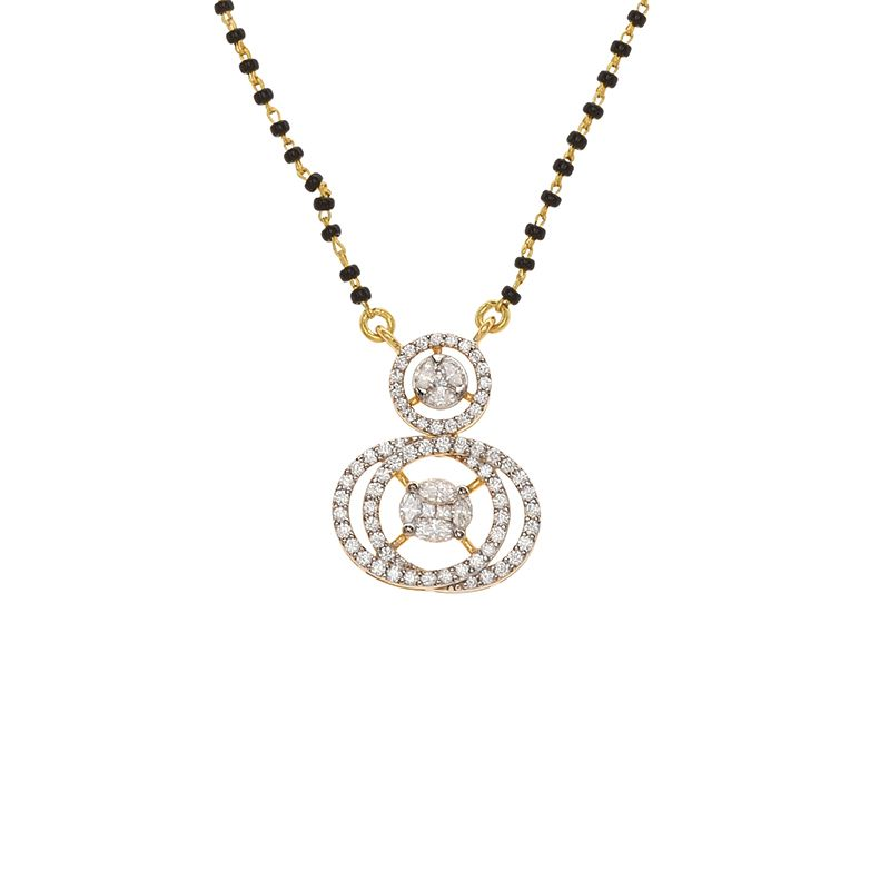 18k Diamond Diamond Luxe Infinity Mangalsutra