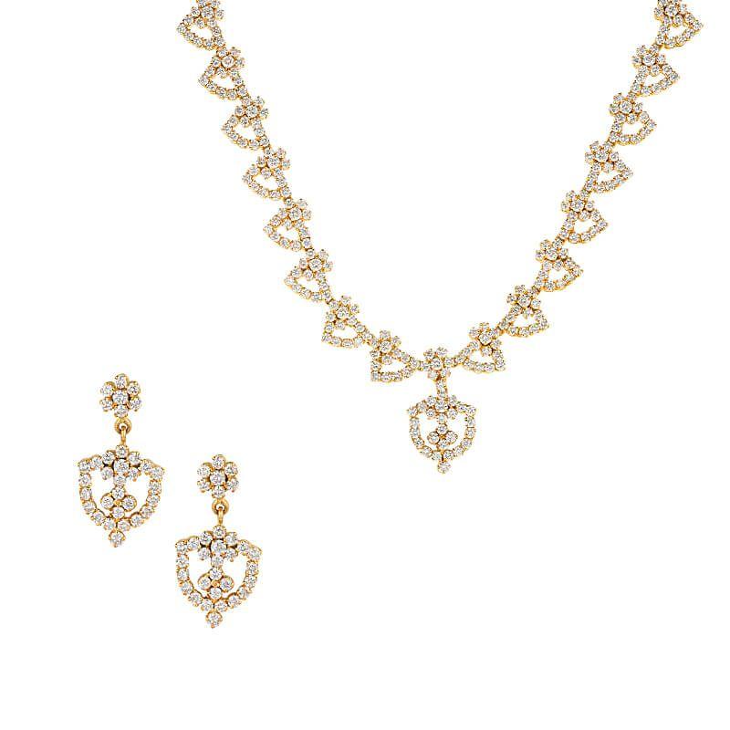 18k Diamond Anais Diamond Necklace