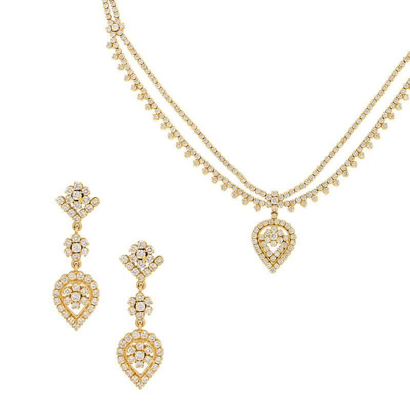 18k Diamond Noemie Diamond Necklace