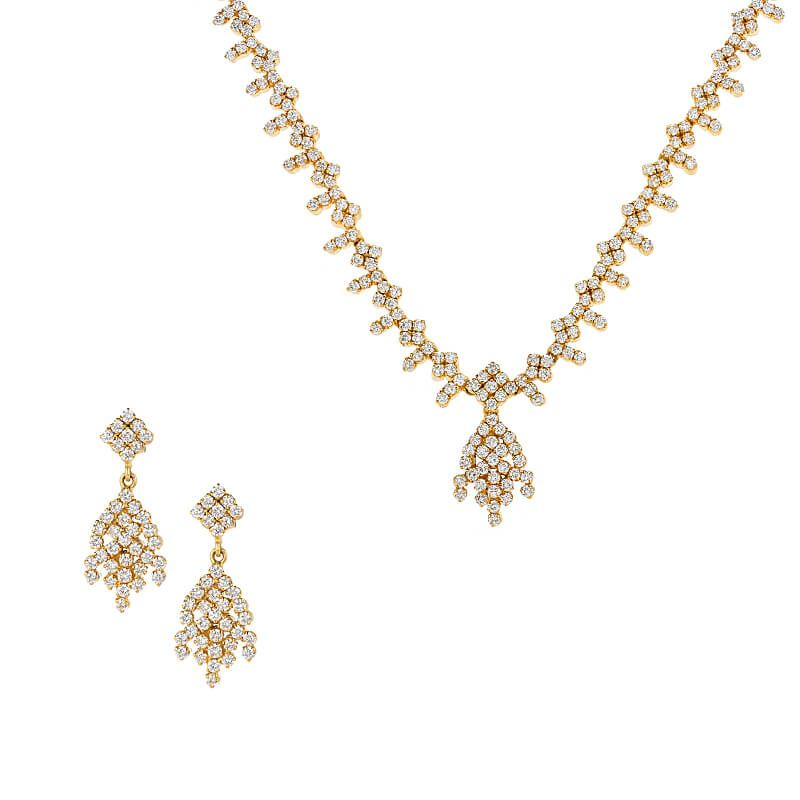 18k Diamond Amable Diamond Necklace