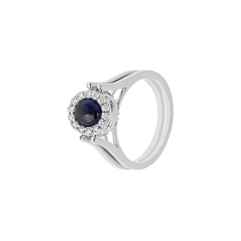18k Diamond Lavish Reversible Diamond Ring