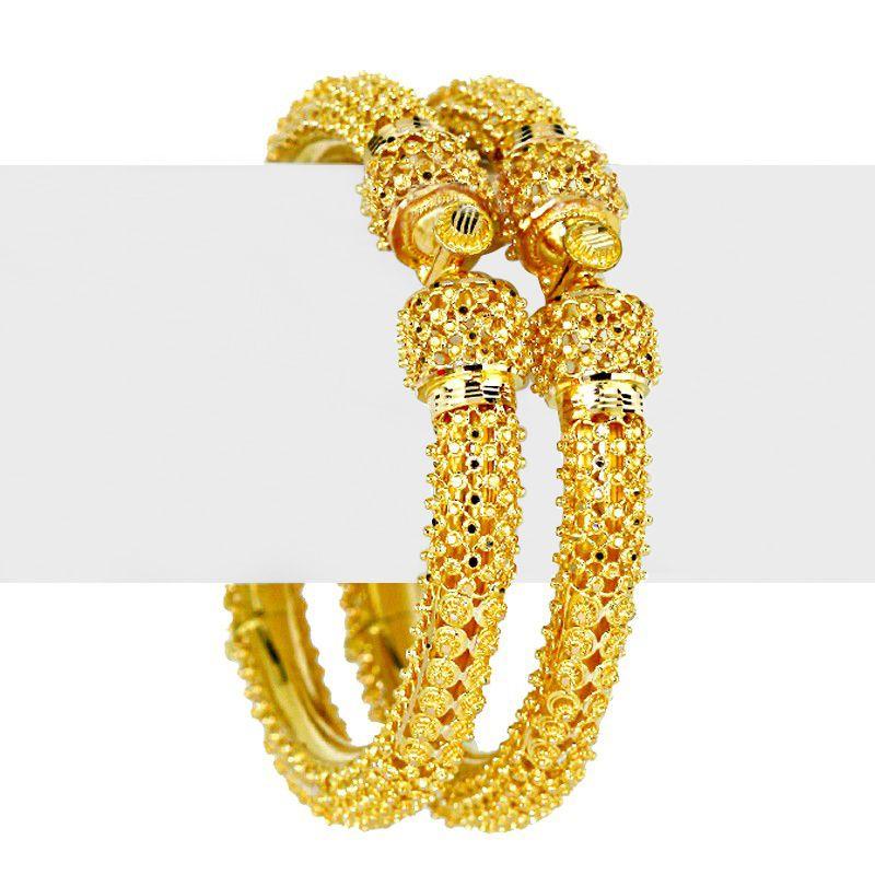22k Gold Sabyachi Gold Bangles