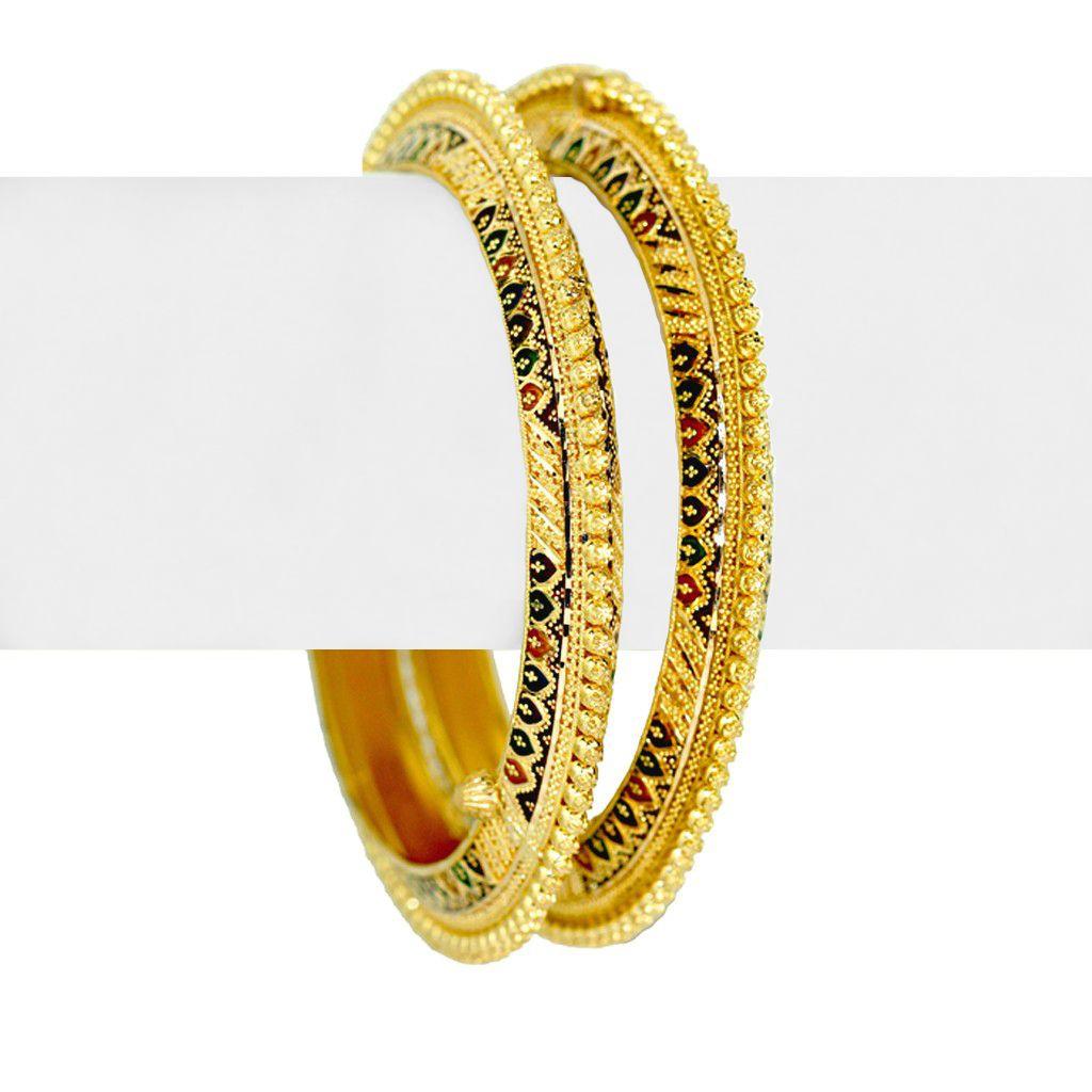 22k Gold Revathi Gold Bangles