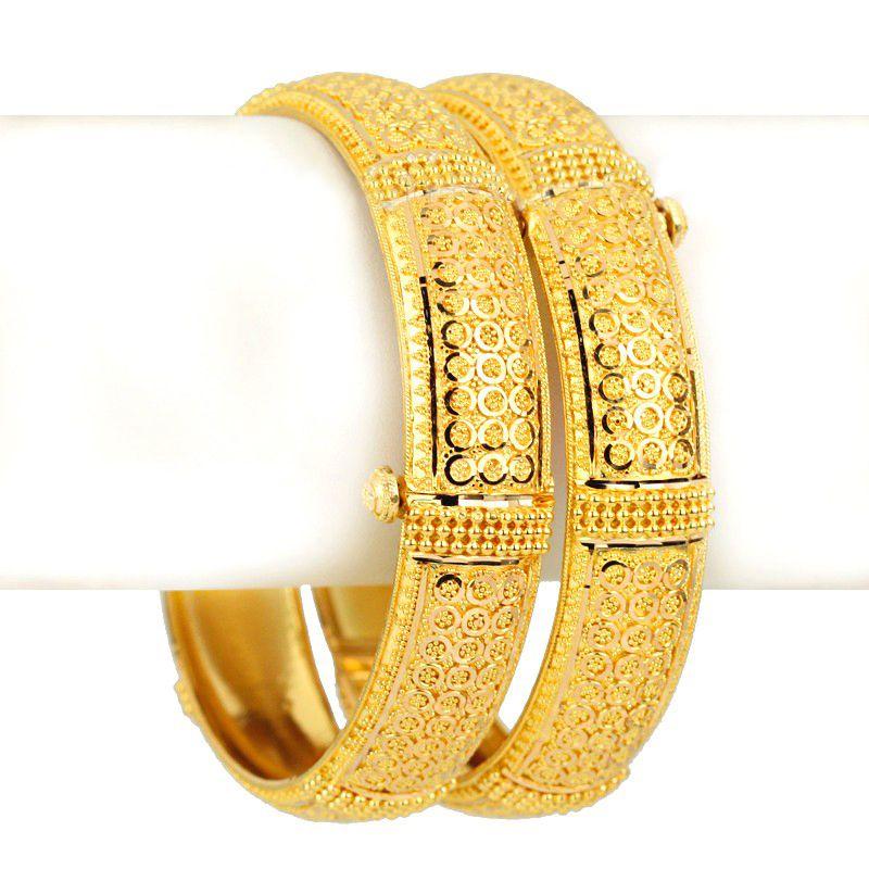 22k Gold Musana Gold Bangles