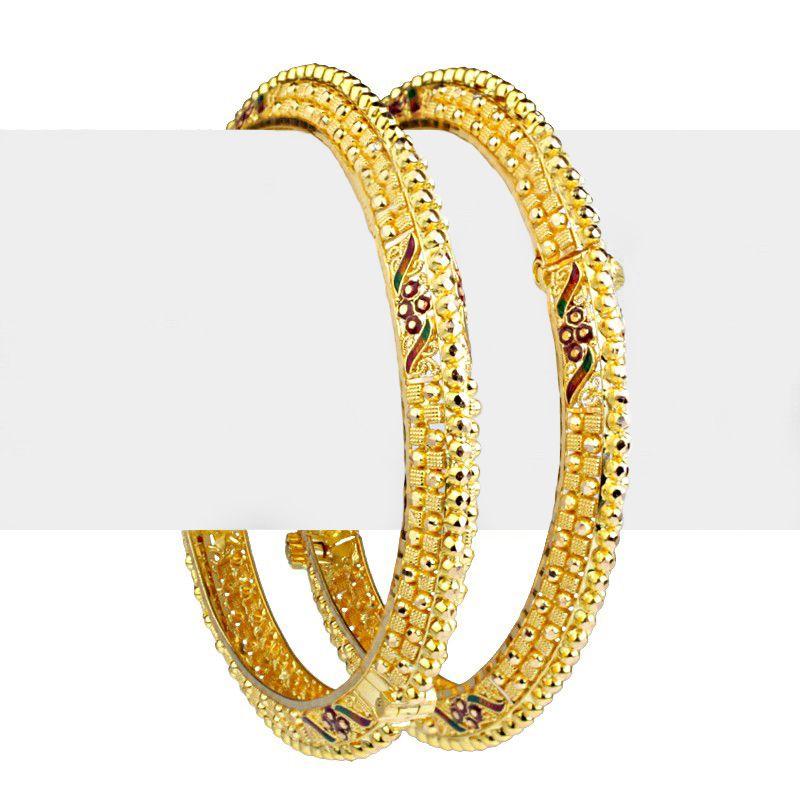 22k Gold Dajani Gold Bangles