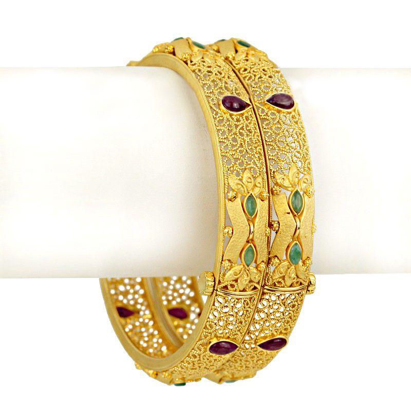 22k Gold Saifa Gold Bangles