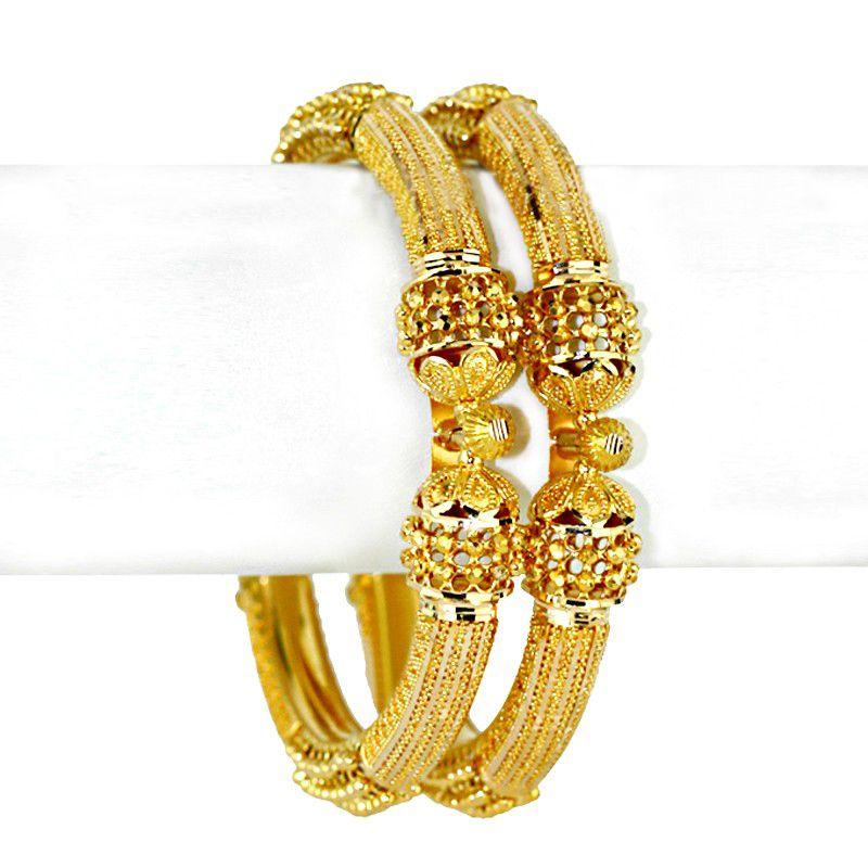22k Gold Ariba Gold Bangles
