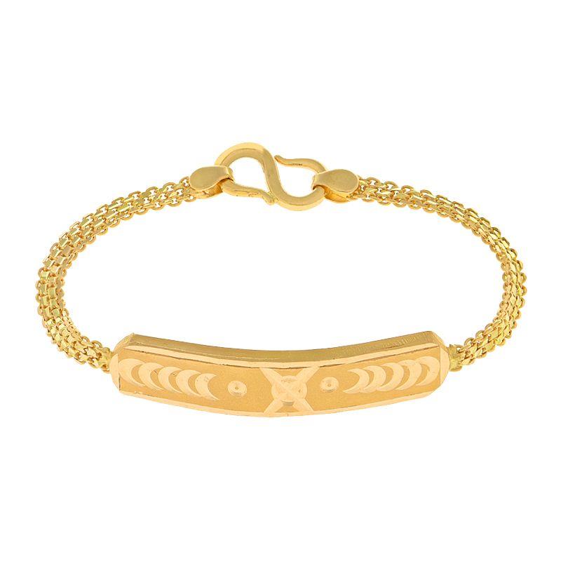 22k Gold Gold Frame Baby Bracelet