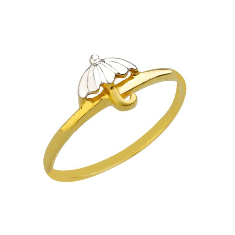 22k Gold Gold Umbrella Baby Ring
