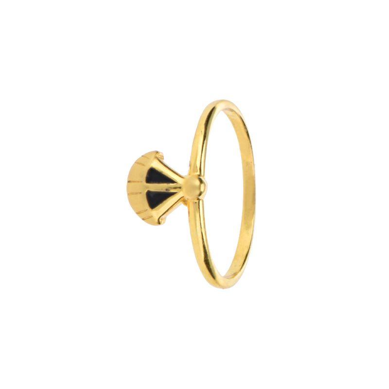 22k Gold Parachute Baby Ring
