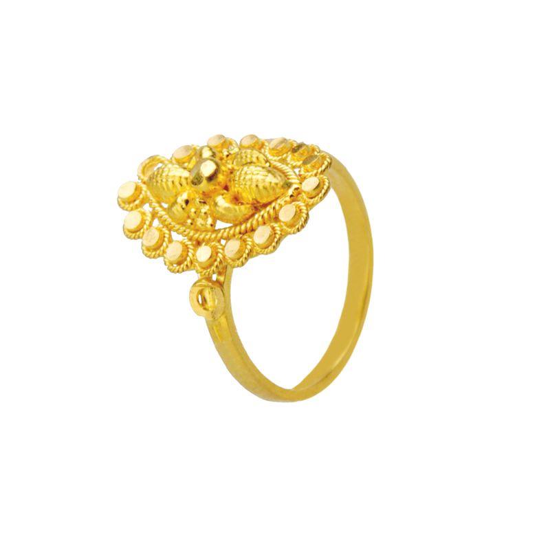 22k Gold Chunky Design Ring