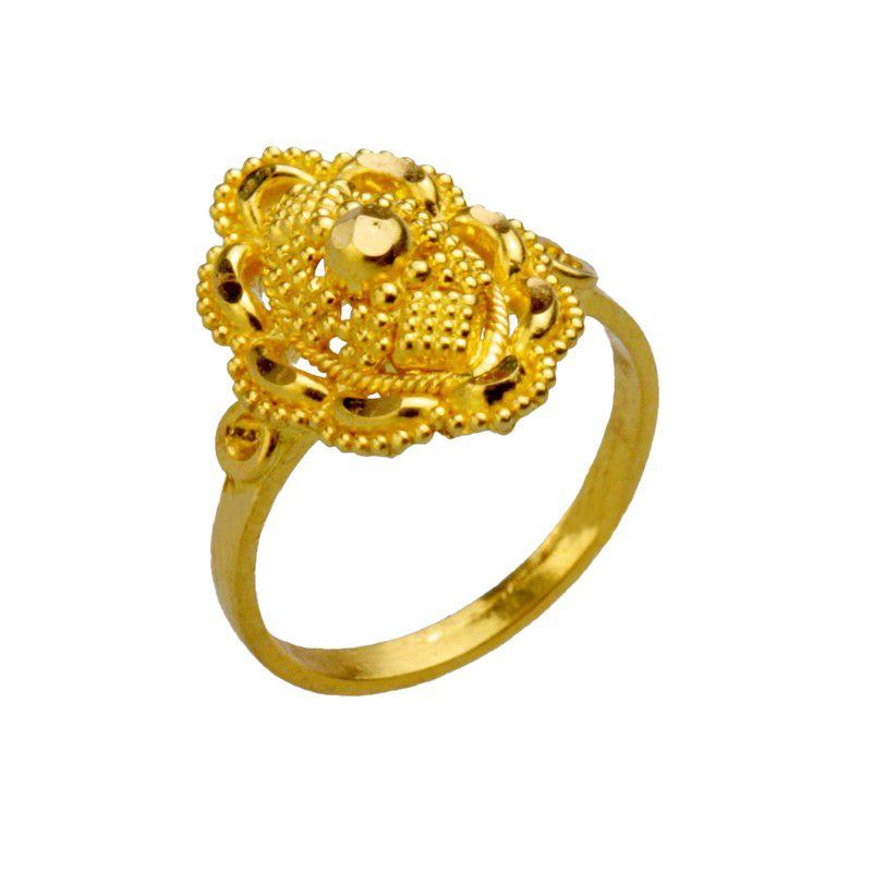 22k Gold Gold Emblem Baby Ring