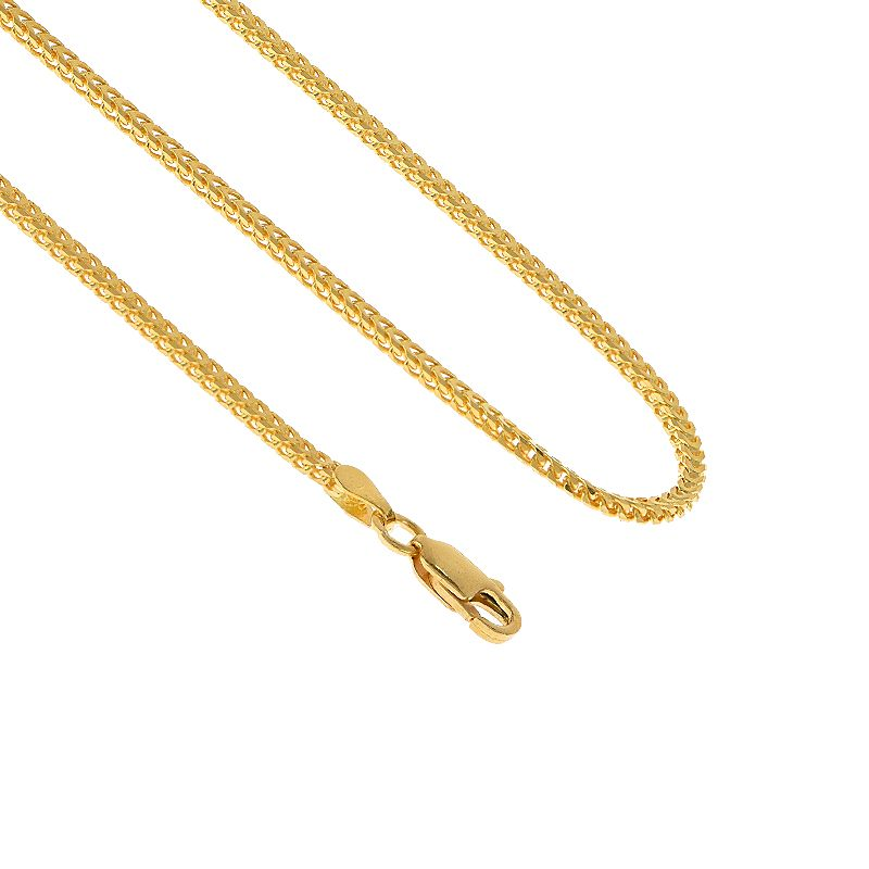 22k Gold Franco Cut Chain - 14