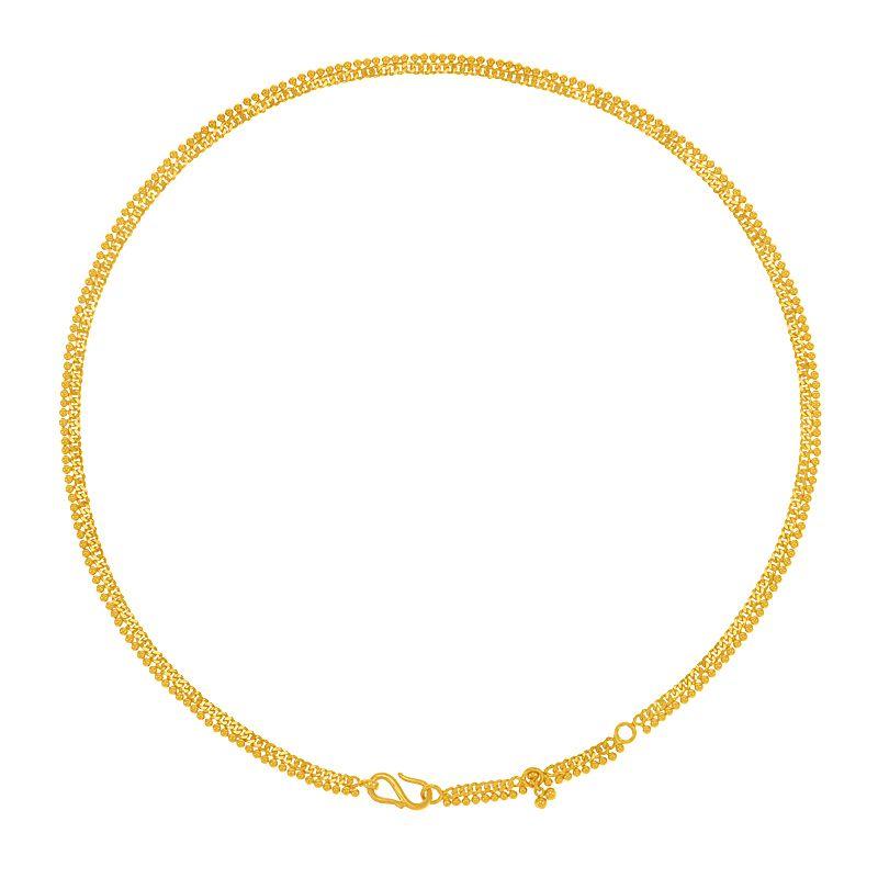 22k Gold Classic Baby Waist Chain