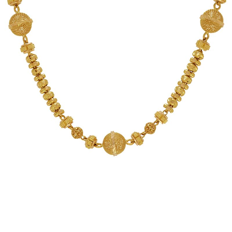 22k Gold Furla Beads Ball Chain