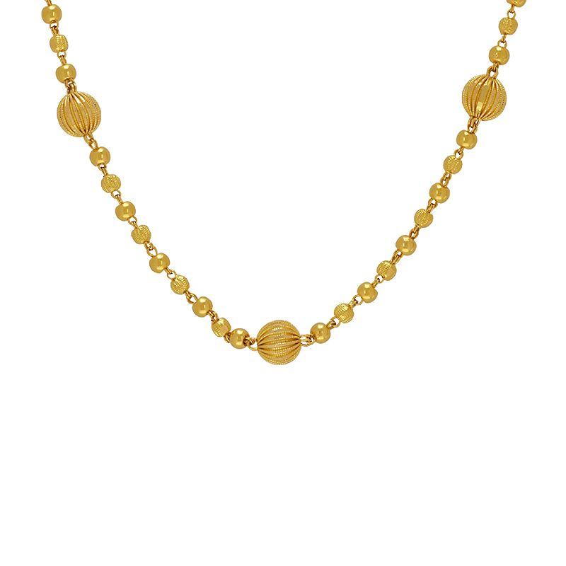22k Gold Yellow Gold Balls Chain
