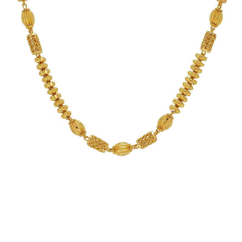 22k Gold Zest Filigree Balls Chain