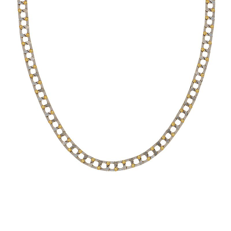 22k Gold Square Cuban Links Chain