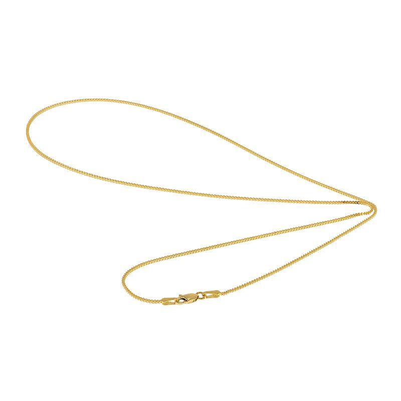 22k Gold Singapore Fox Gold Chain - 22