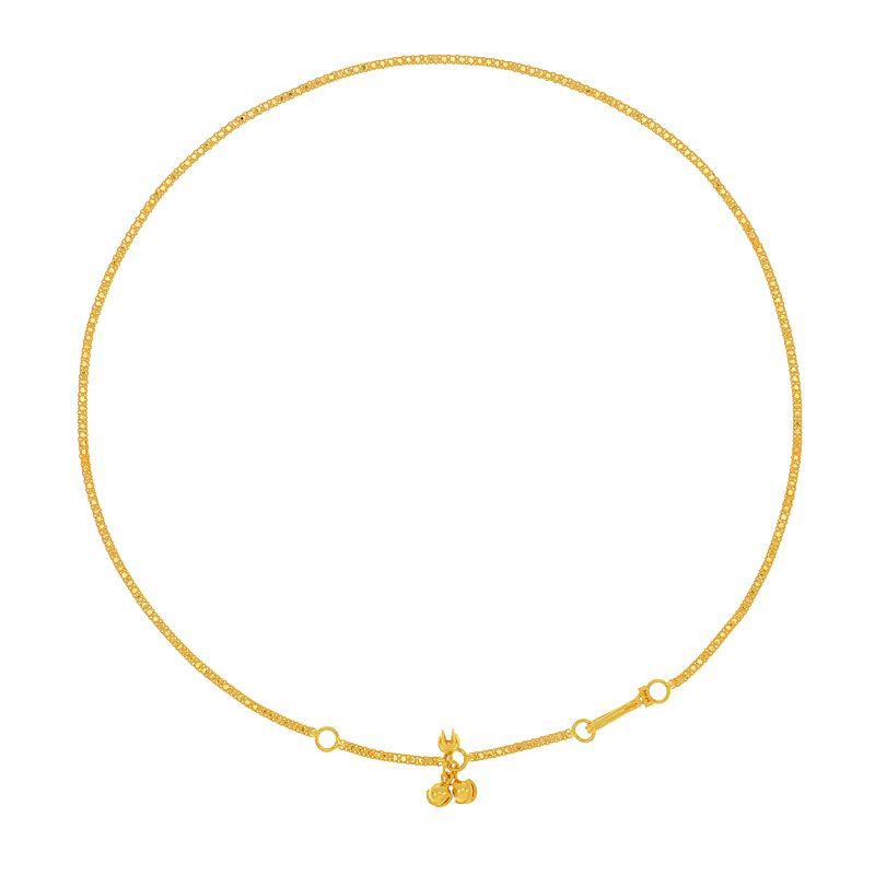 22k Gold Chimes Baby Waist Chain