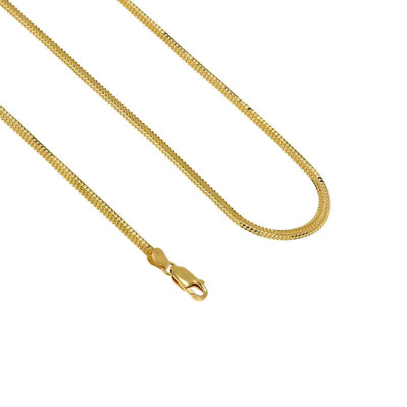 22k Gold Singapore Sadak Chain - 20