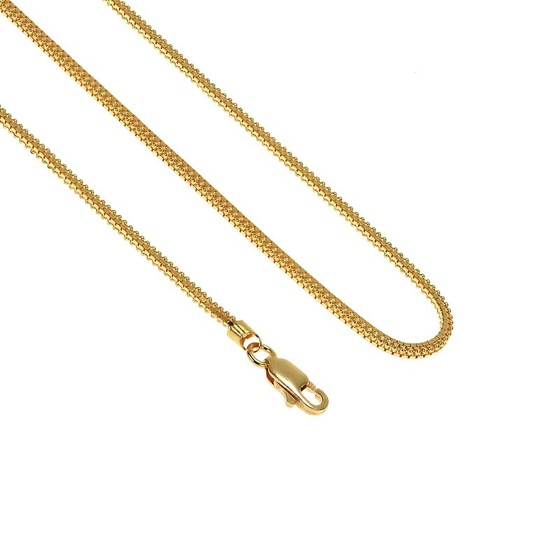 22k Gold Indica Gold Chain - 20