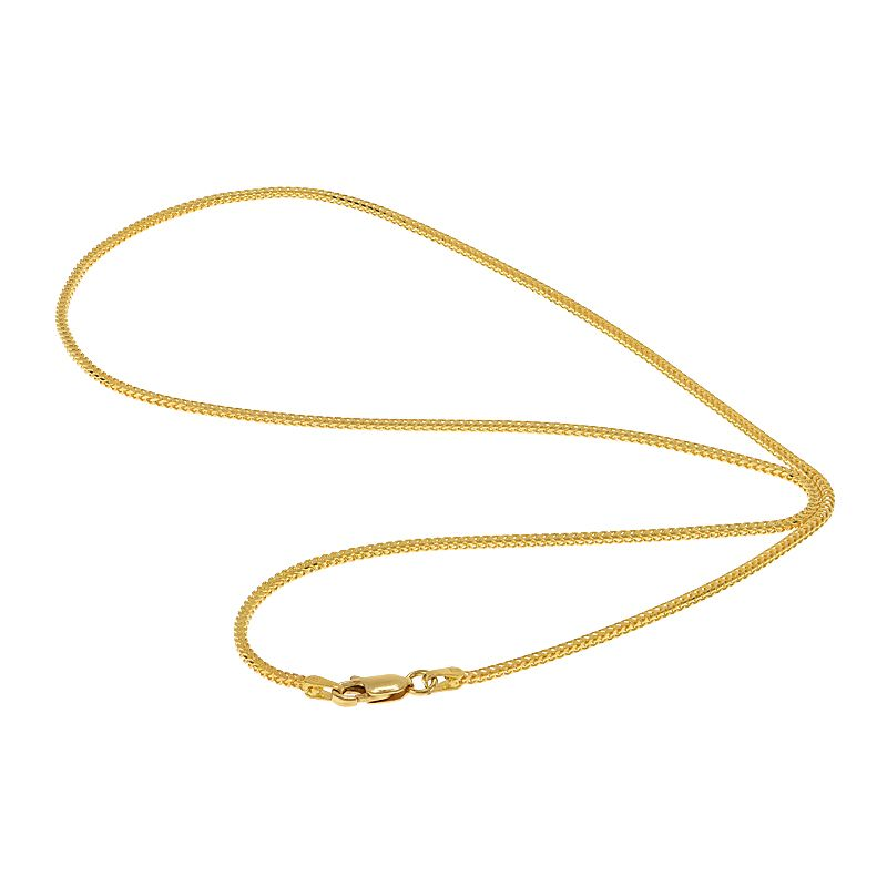 22k Gold Franco Cut Chain - 20