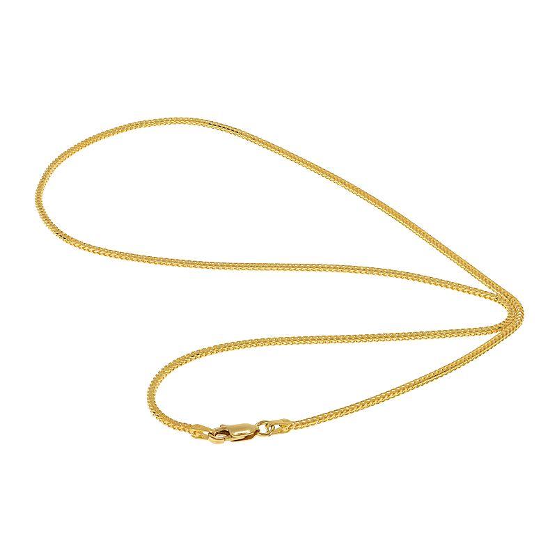 22k Gold Franco Cut Chain - 22