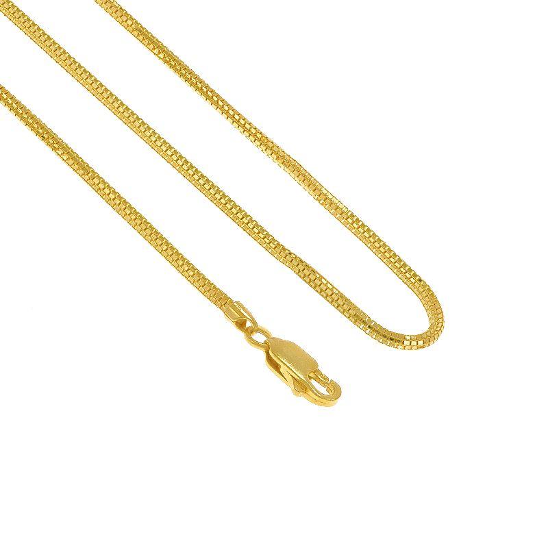22k Gold Venetian Square Sadak Chain - 22