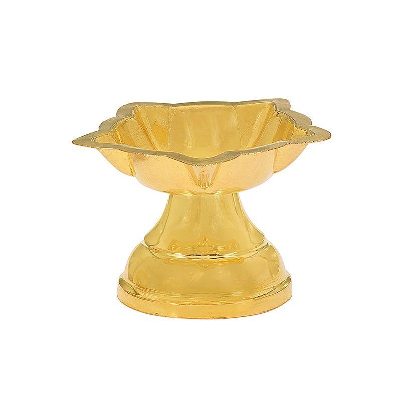22k Gold Panchmukhi Gold Diya