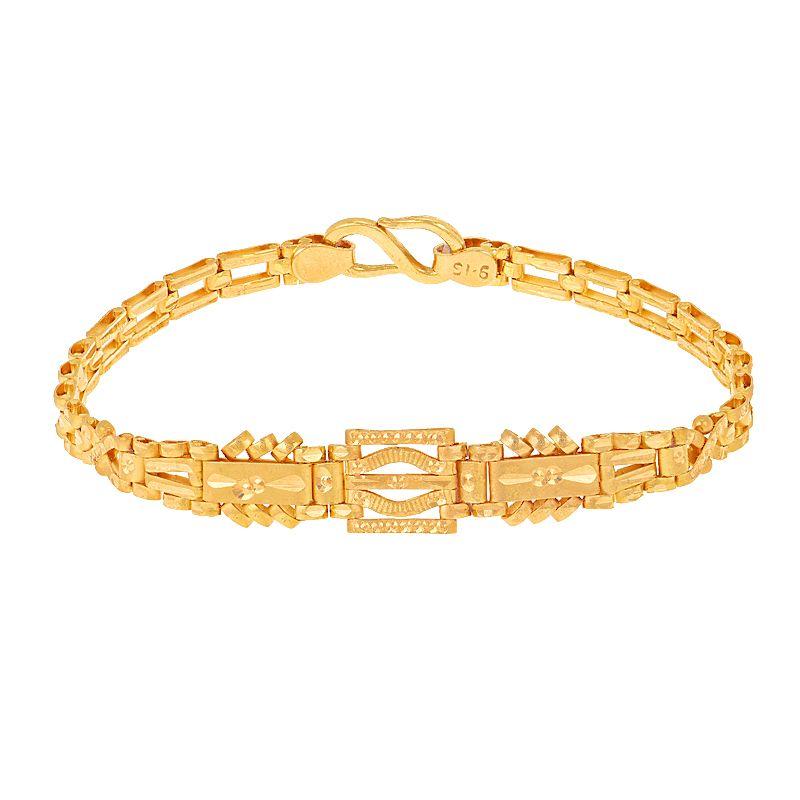 22k Gold Attractive Links Ladies Bracelet