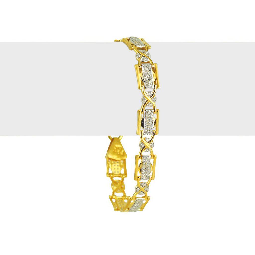 22k Gold Men's Infinity Gold Bracelet